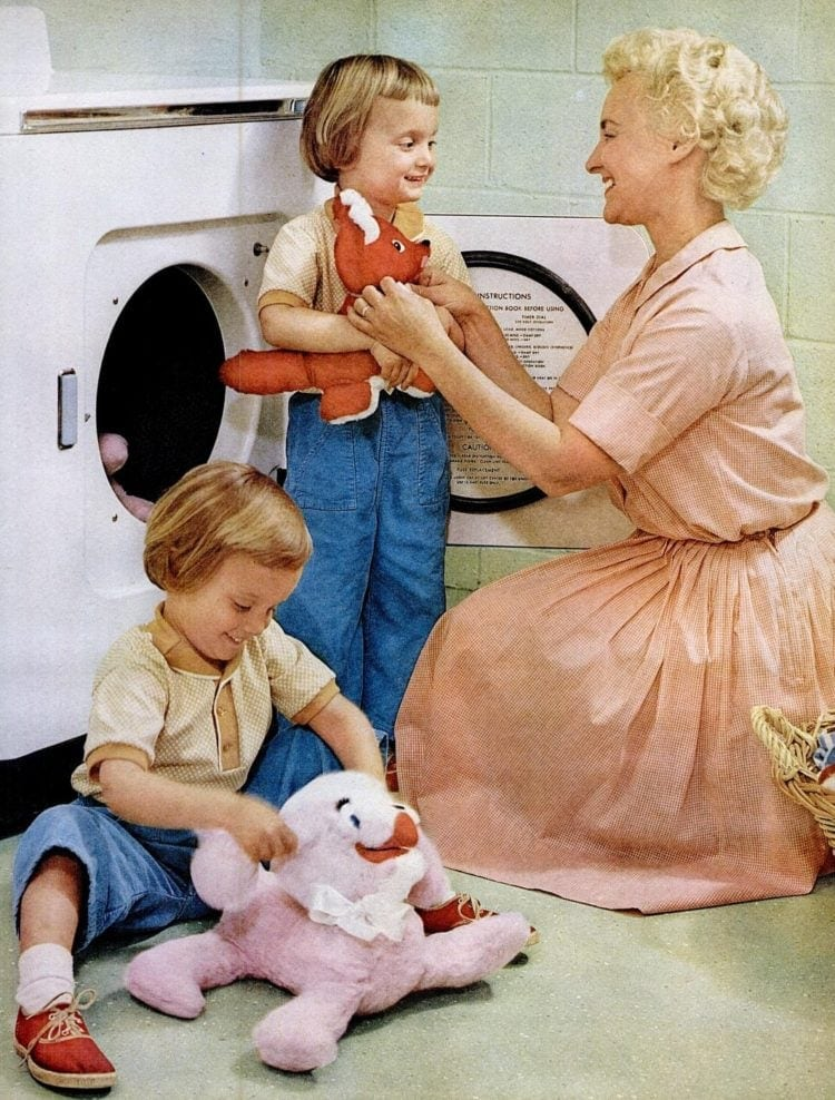 Dec 22, 1961 mother homemaker with twins