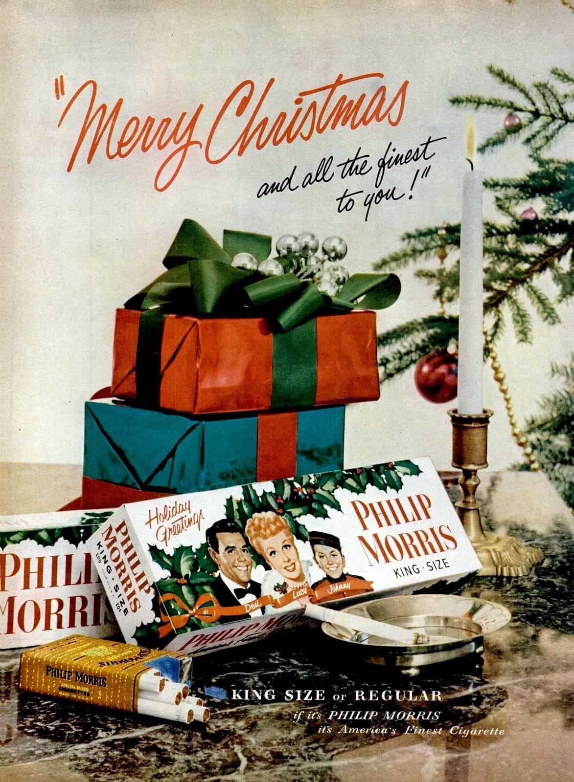 Dec 7, 1953 I Love Lucy cigarettes