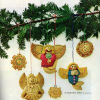 How to make salt dough Christmas ornaments