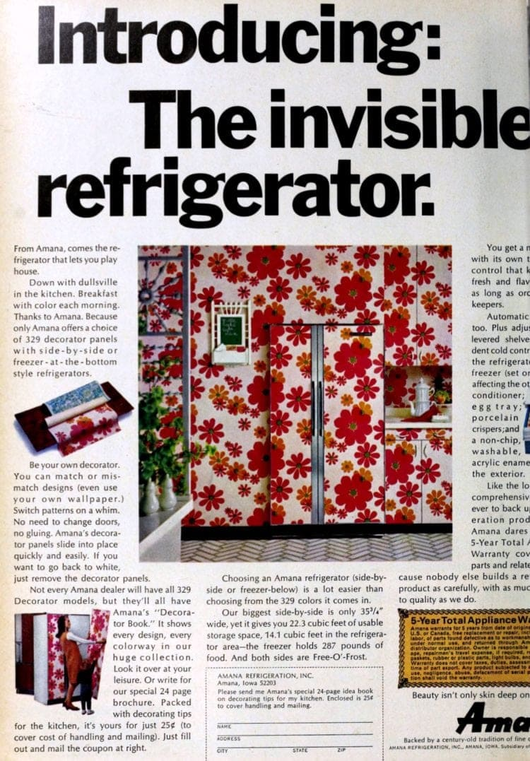 Introducing: The invisible refrigerator (1967)