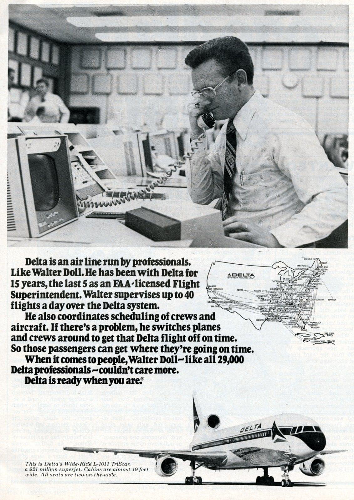 Delta Flight superintendent Walter Doll