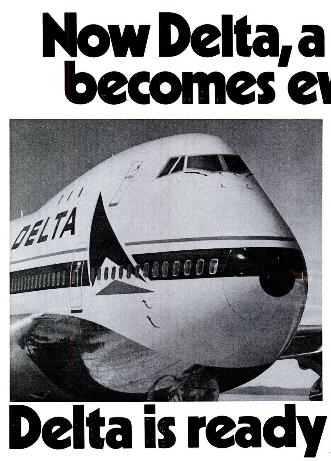 Delta is ready when you are (1972)