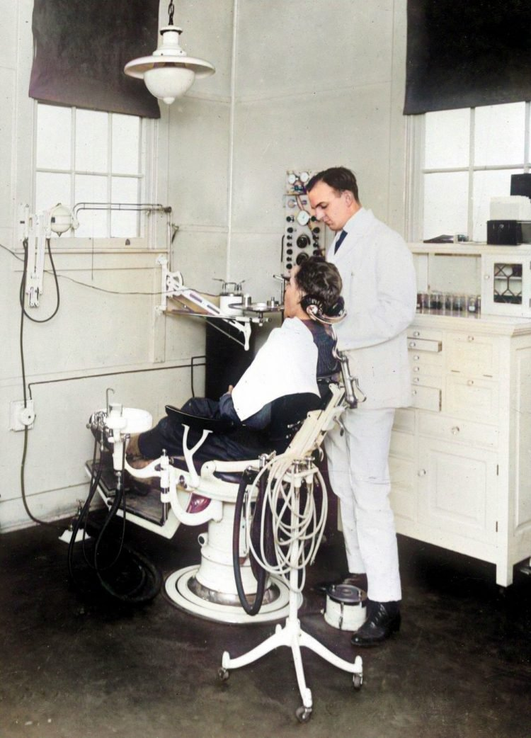 Dentistry the old-fashioned way makes dental care today seem like magic