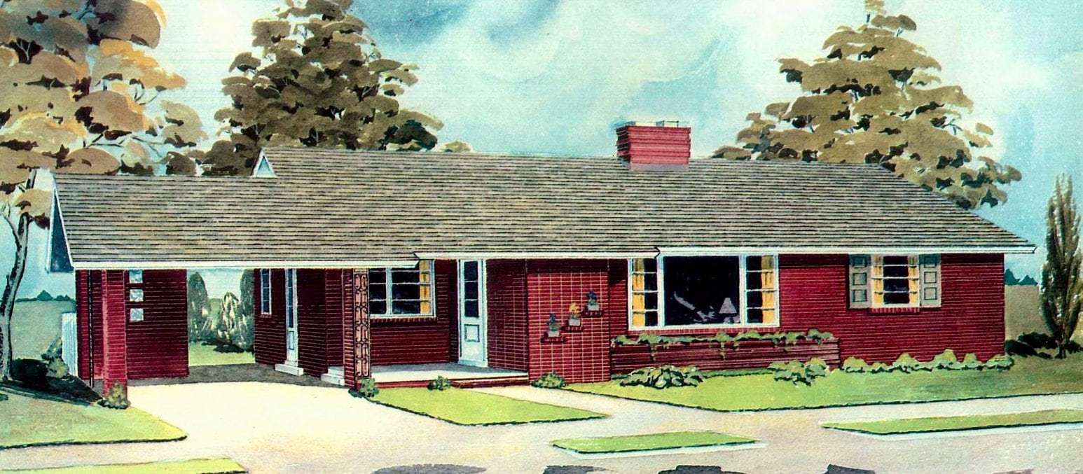 Designed home plans from 1958