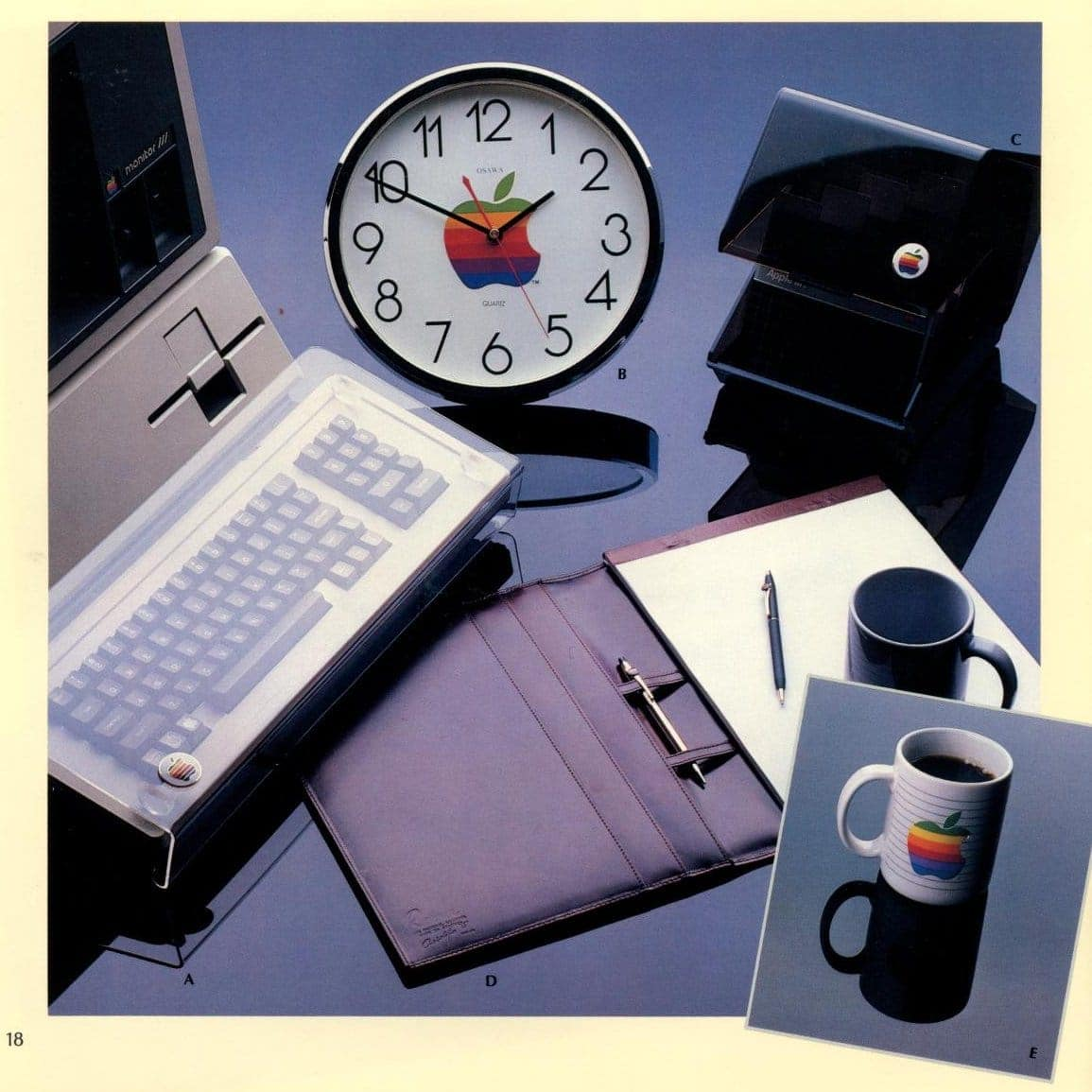 Desk accessories from Apple Collection Catalog