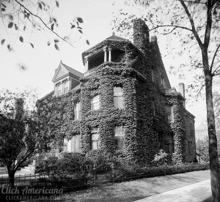Detroit, Mich., residence of Henry Russel c1900