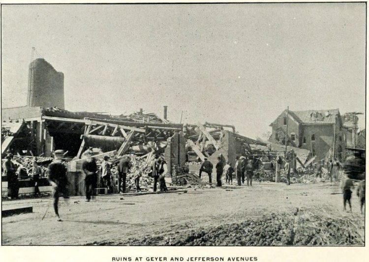 Devastation from deadly tornadoes St Louis 1896 (10)