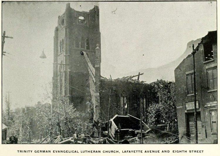 eadly St Louis tornado in 1896