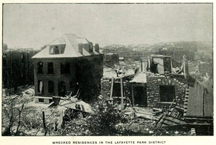 Devastation from deadly tornadoes St Louis 1896 (12)