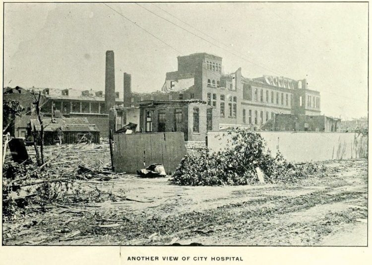 Devastation from deadly tornadoes St Louis 1896 (14)