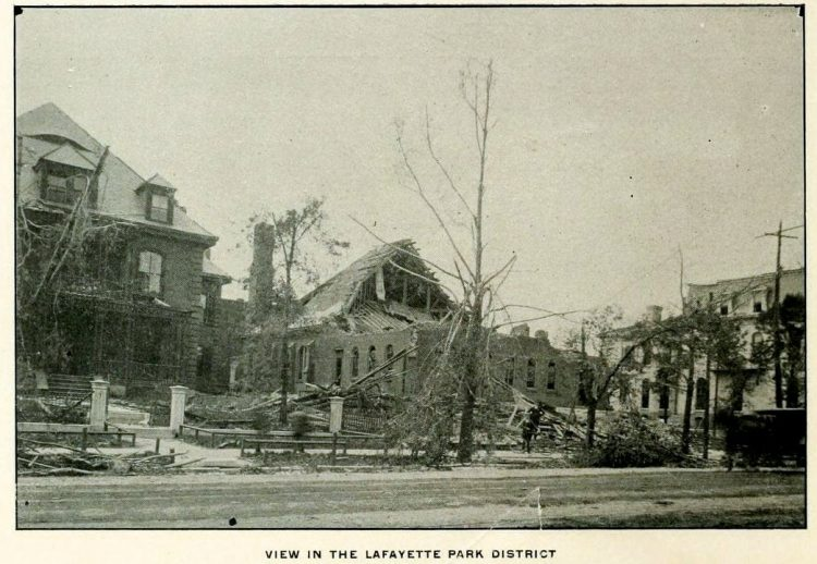 Devastation from deadly tornadoes St Louis 1896 (15)