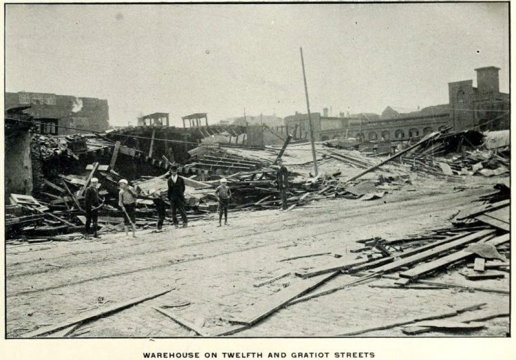 Devastation from deadly tornadoes St Louis 1896 (16)