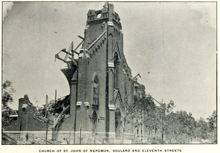 Devastation from deadly tornadoes St Louis 1896 (17)