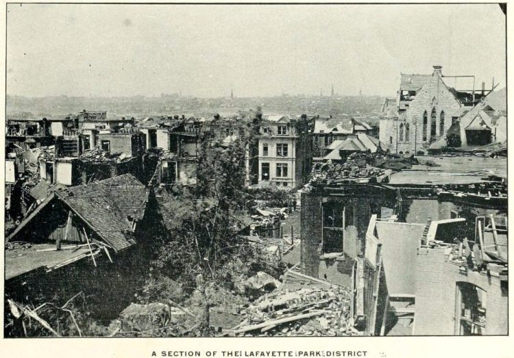 Devastation from deadly tornadoes St Louis 1896 (18)
