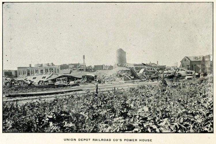 Devastation from deadly tornadoes St Louis 1896 (20)