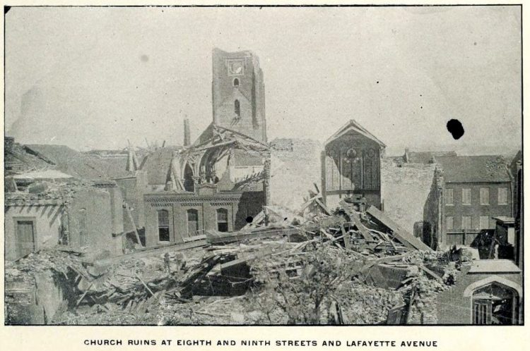 Devastation from deadly tornadoes St Louis 1896 (5)