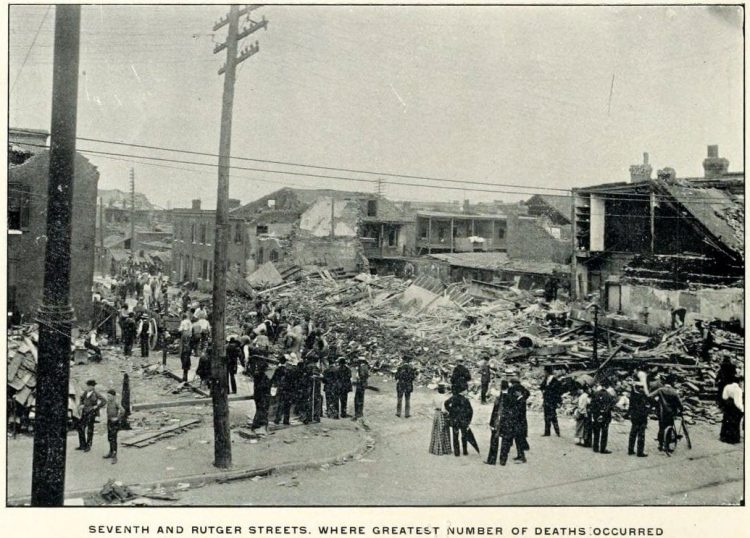 Devastation from deadly tornadoes St Louis 1896 (6)