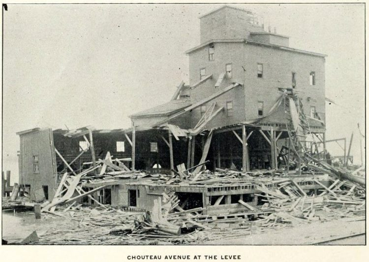 Devastation from deadly tornadoes St Louis 1896 (8)