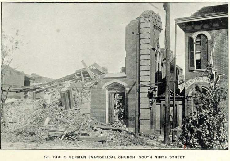 Devastation from deadly tornadoes St Louis 1896 (9)