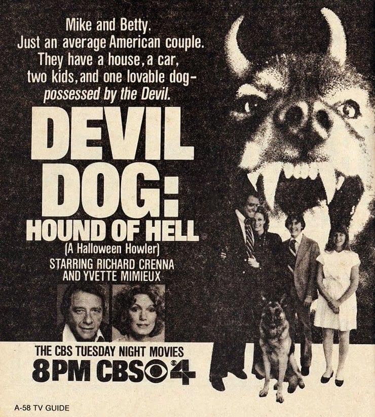 Devil Dog The Hound of Hell 1978 - Halloween TV specials