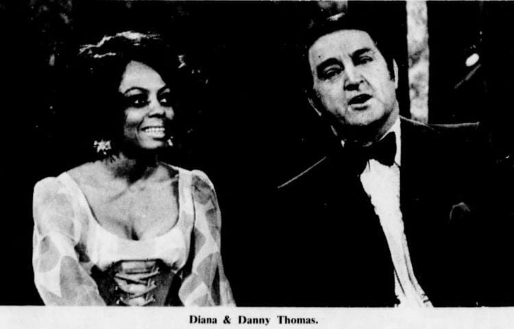 Diana Ross Danny Thomas Tv special 1971