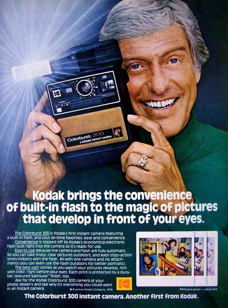 Dick Van Dyke Kodak 1978