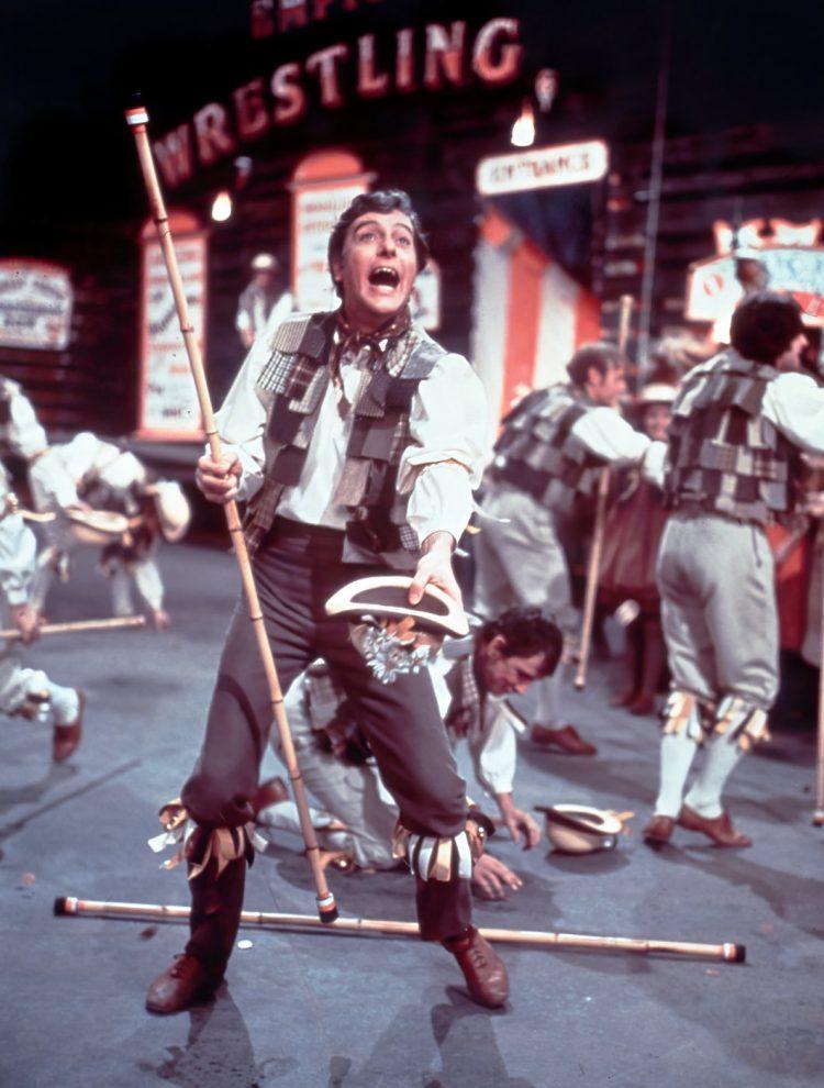 Dick Van Dyke in Chitty Chitty Bang Bang (1968)