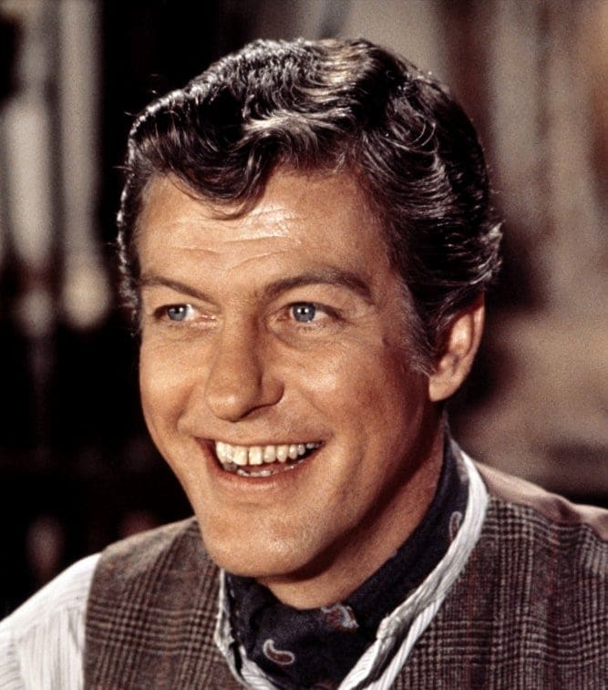 Dick Van Dyke in Chitty Chitty Bang Bang movie