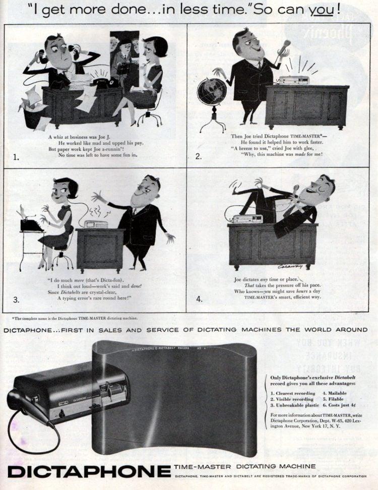 Dictaphone 1955