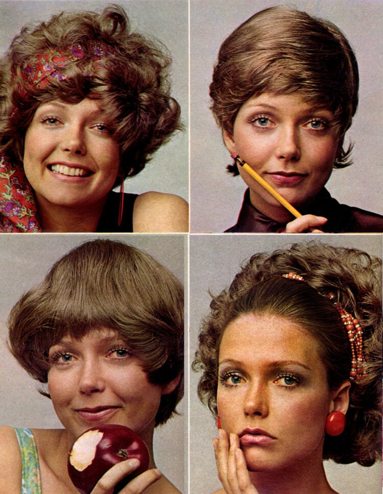 Different '70s hairstyles from 1970 (2)