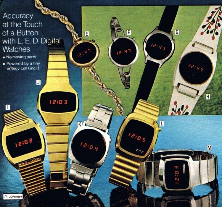 Digital Watches 1976