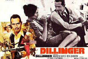 Dillinger movie 1973 - Lobby card