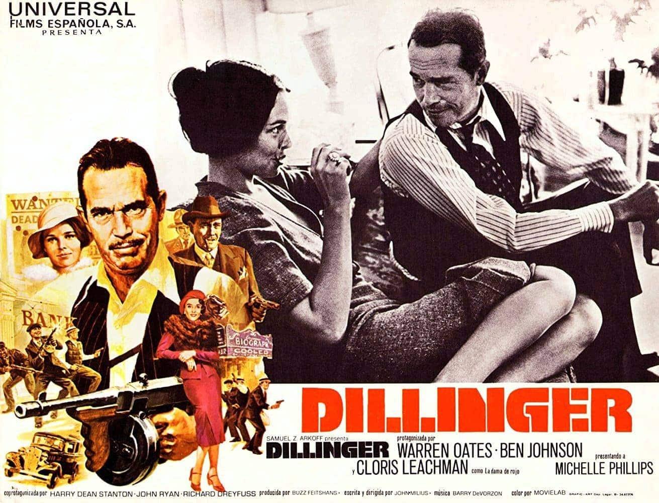Dillinger movie 1973 - Lobby card