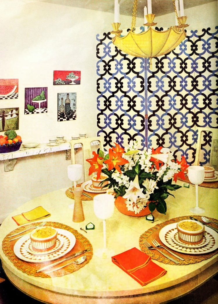 Dining area - Vintage sixties Scholz Mark 60 house