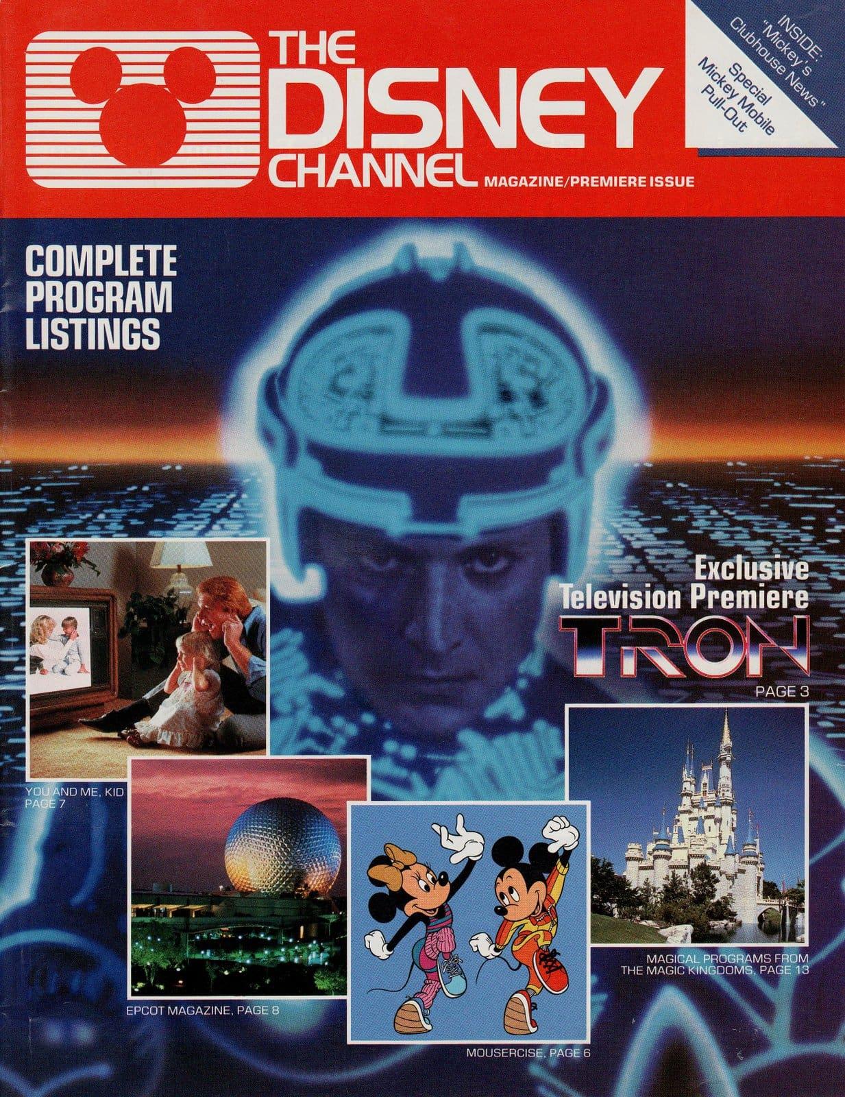 Disney Channel Magazine No 1 - April-May 1983