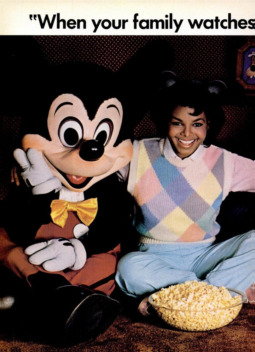Disney Channel in the 1980s - Janet Jackson (2)