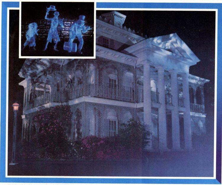 Disneyland Haunted Mansion - 1978