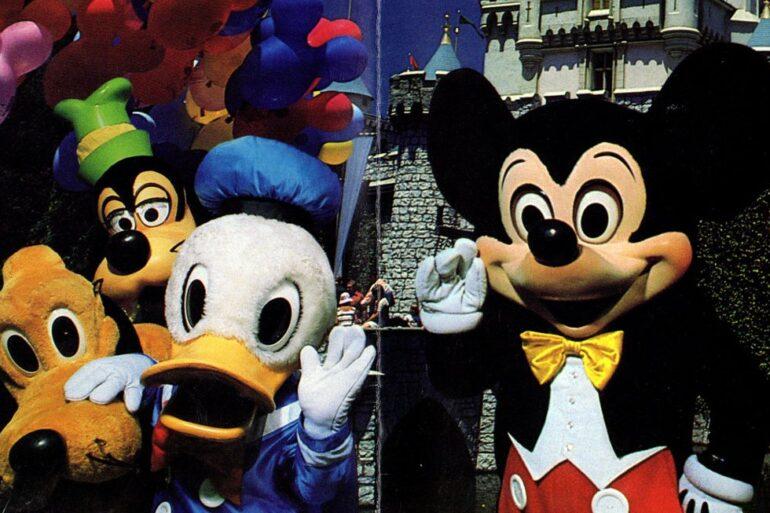 Disneyland brochure - 1987-1988