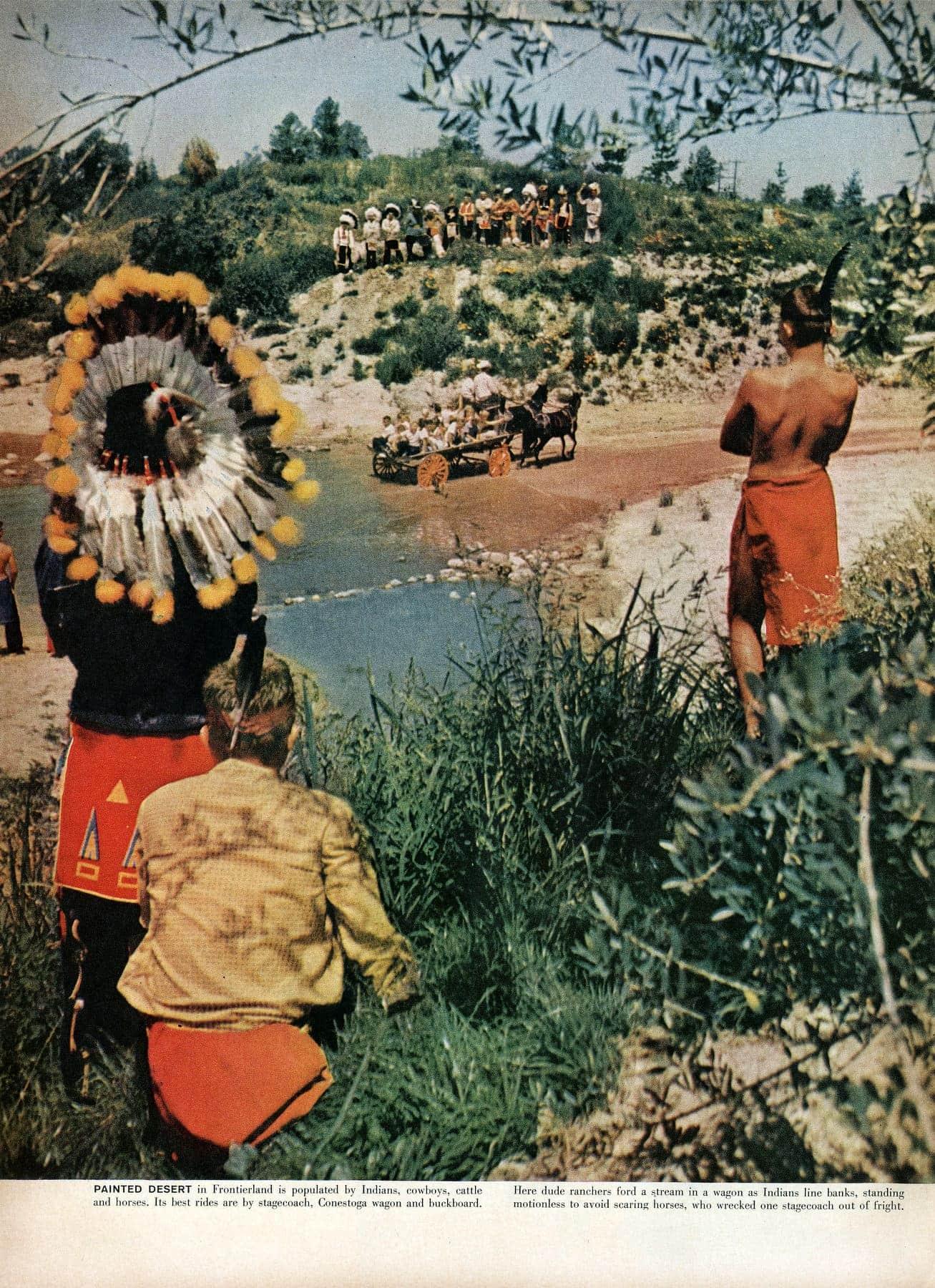 Disneyland opens - Walt Disney's magical new theme park in Southern California 1955 (3)