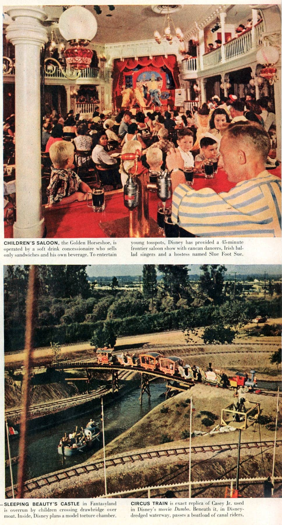 Disneyland opens - Walt Disney's magical new theme park in Southern California 1955 (4)