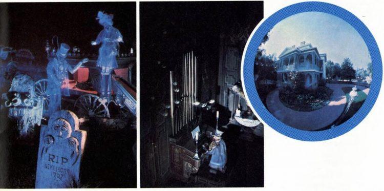 Disneyland's Haunted Mansion - 1978