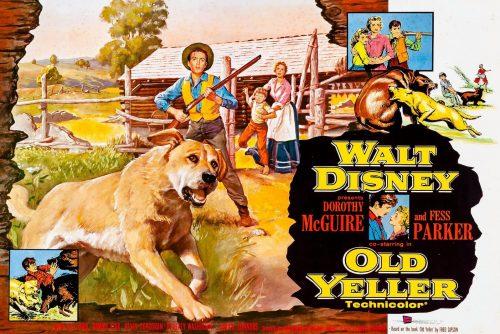 Disney's Old Yeller movie 1957-1958
