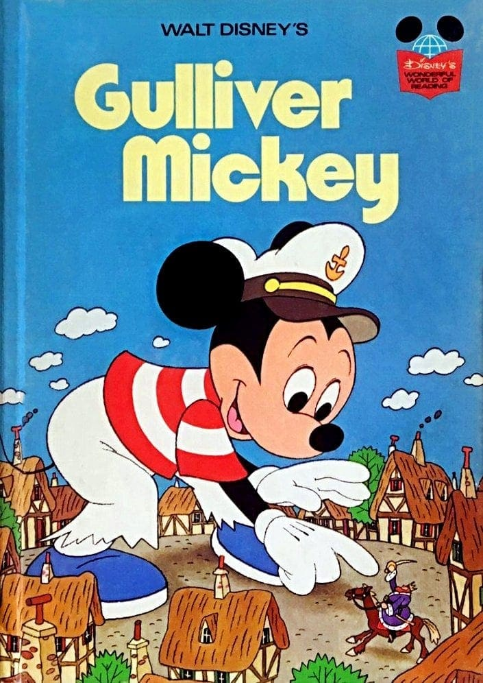 Disney's Wonderful World of Reading Gulliver Mickey 1975