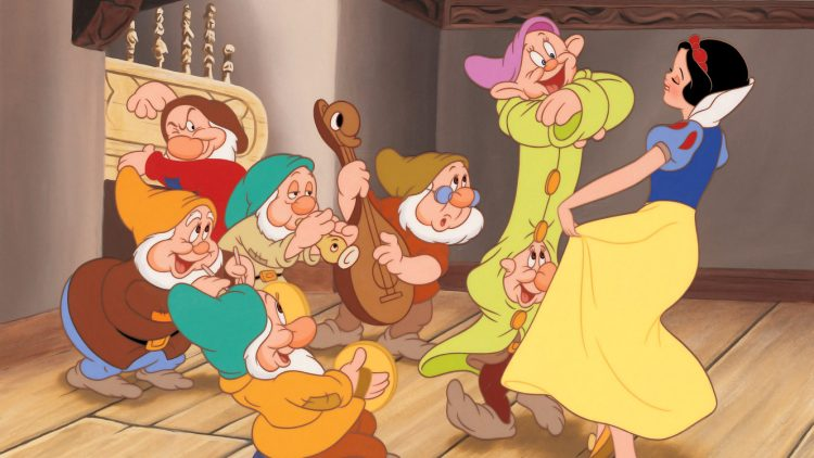 Disney's movie Snow White and the Seven Dwarfs