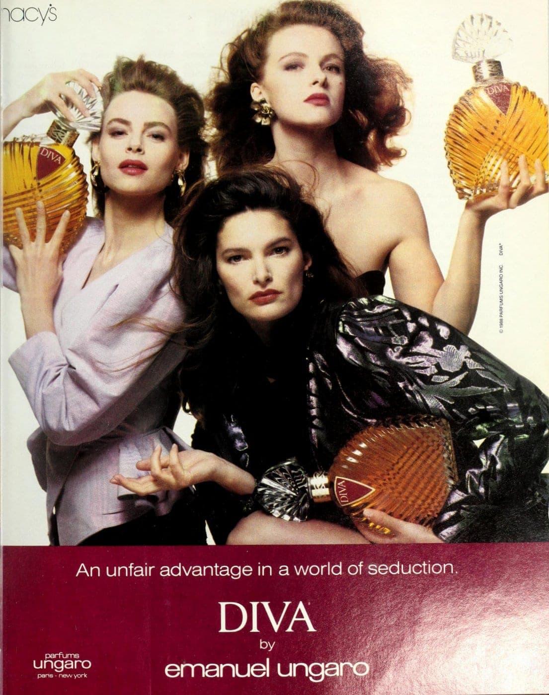 Diva by Emanuel Ungaro fragrance from 1988