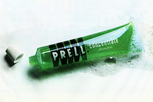Do you remember bright green Prell shampoo