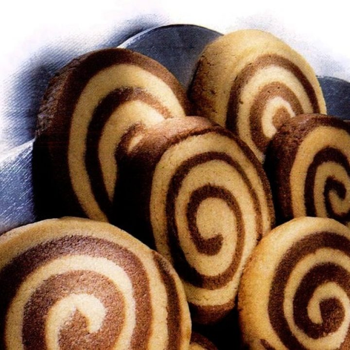 Brown sugar pinwheel cookies (1999)