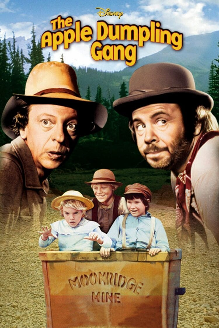Don Knotts and Tim Conway in The Apple Dumpling Gang