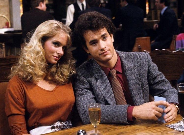 Donna Dixon and Tom Hanks on Bosom Buddies