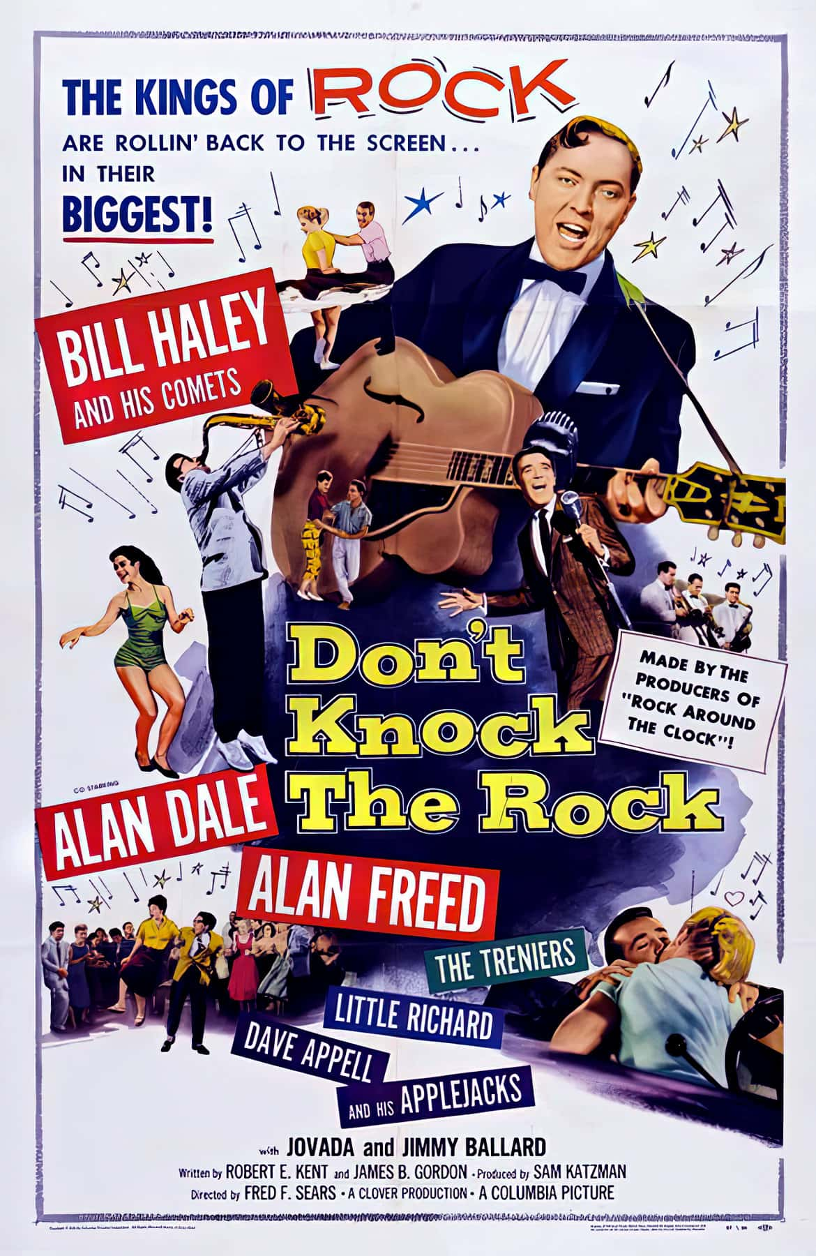 Don't Knock the Rock (1956) starring Bill Haley and His Comets